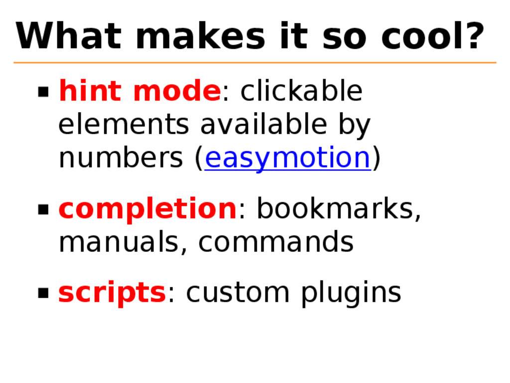 What makes it so cool? hint mode: clickable ele...