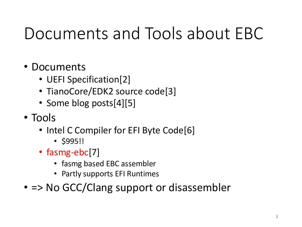 Documents and Tools about EBC • Documents • UEF...