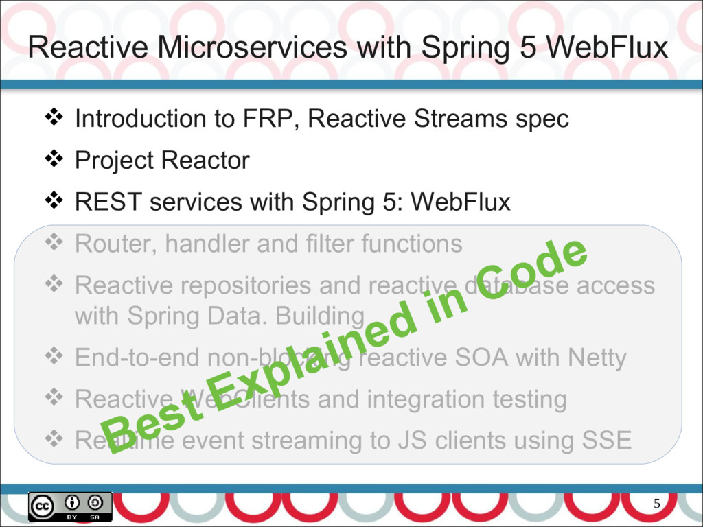 5 Reactive Microservices with Spring 5 WebFlux ...