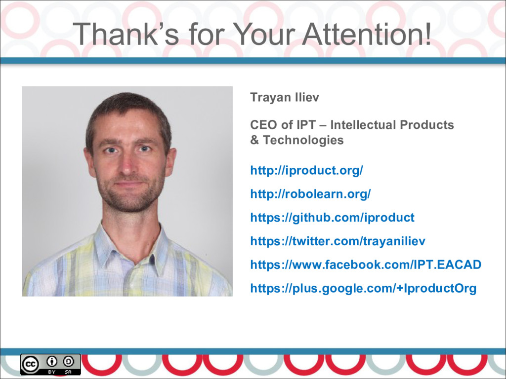 Thank's for Your Attention! 41 Trayan Iliev CEO...