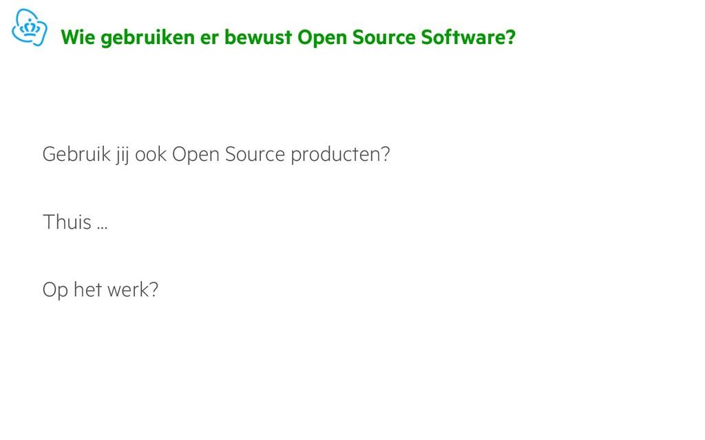 Wie gebruiken er bewust Open Source Software? G...