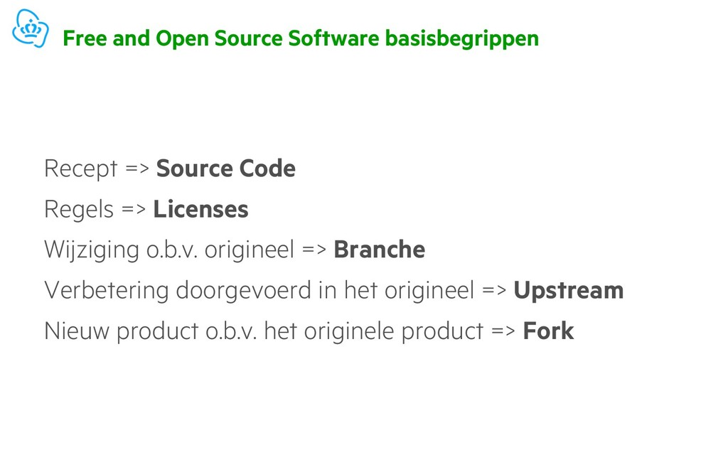 Free and Open Source Software basisbegrippen Re...