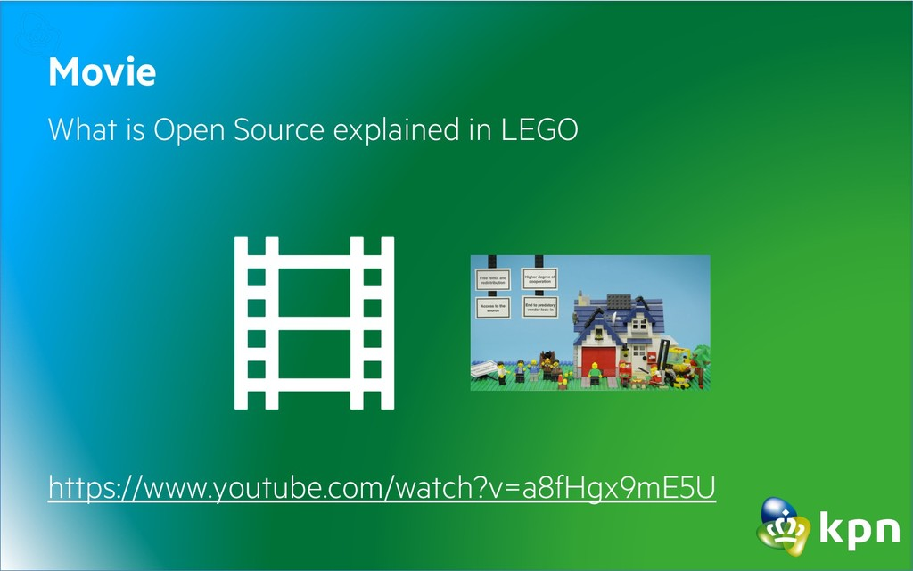 Movie What is Open Source explained in LEGO htt...