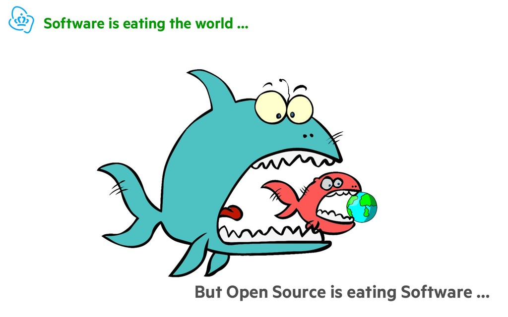 Software is eating the world … But Open Source ...