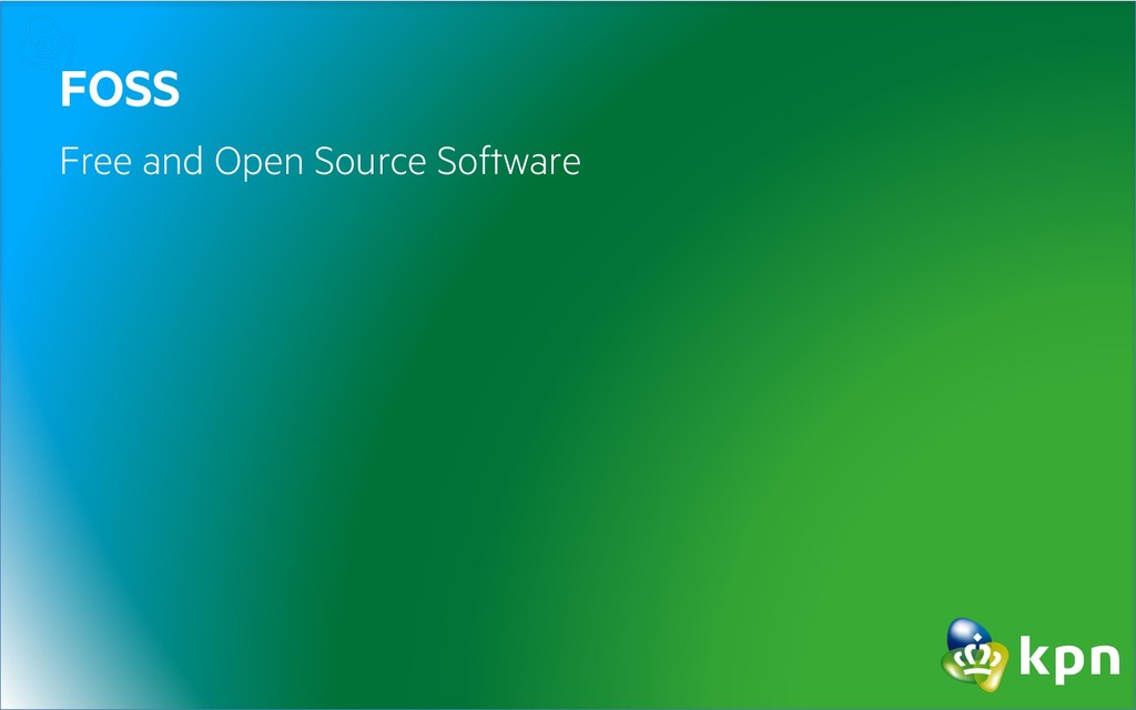 FOSS Free and Open Source Software