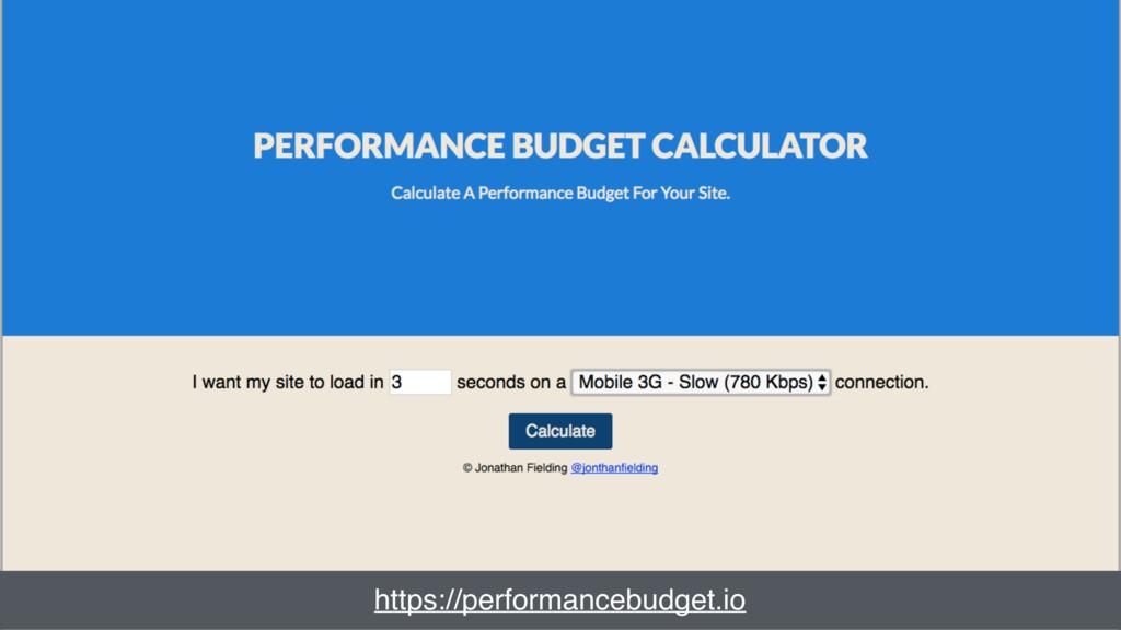 Power quote https://performancebudget.io