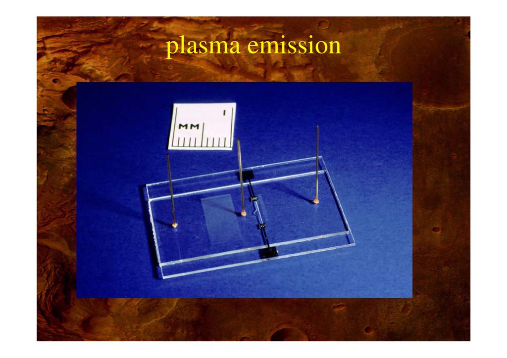 plasma emission p
