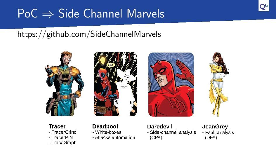 PoC ⇒ Side Channel Marvels https://github.com/S...