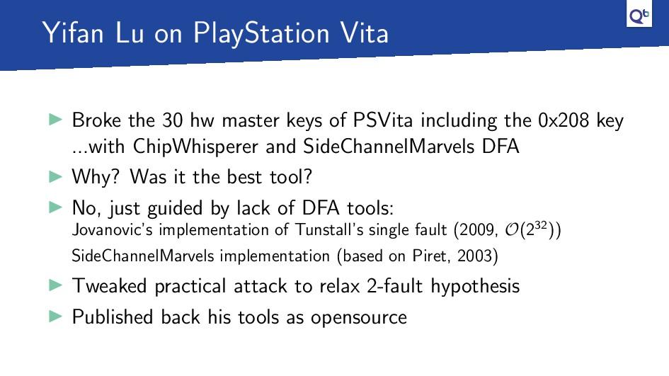 Yifan Lu on PlayStation Vita Broke the 30 hw ma...