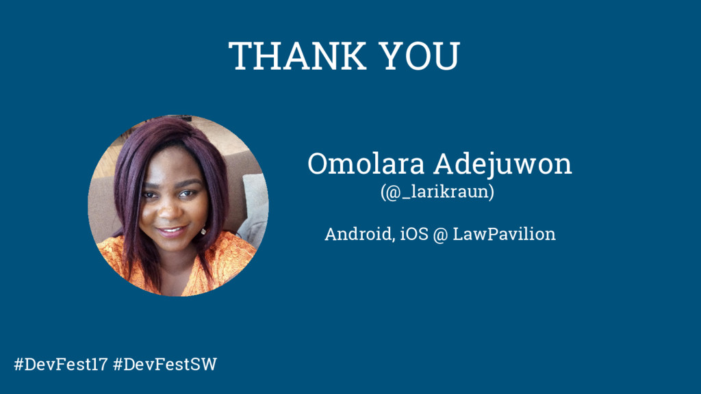 Omolara Adejuwon (@_larikraun) Android, iOS @ L...