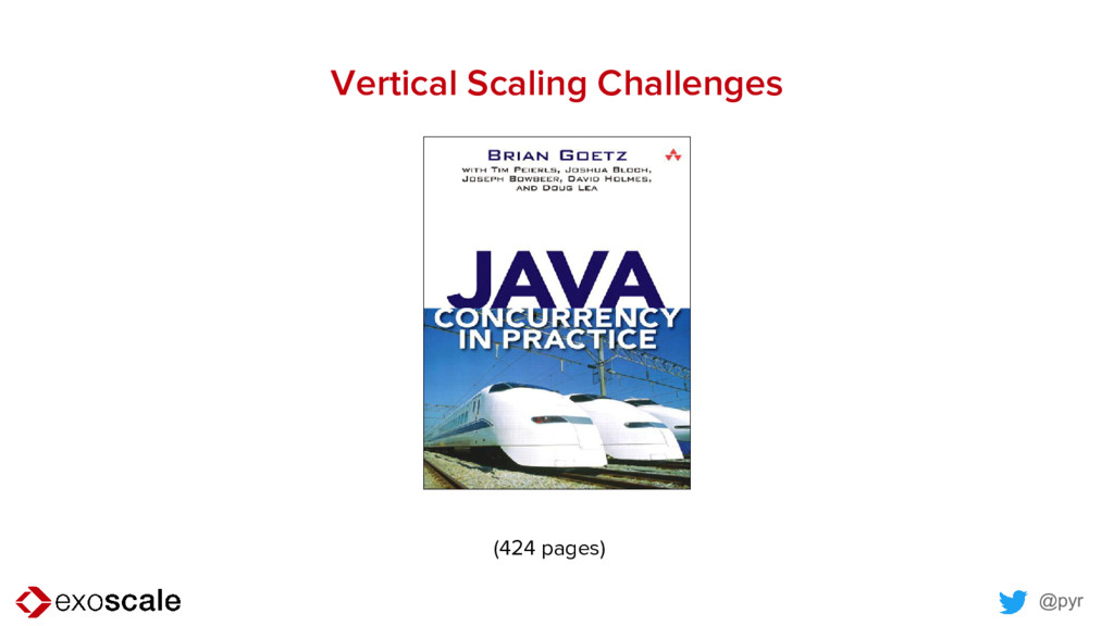 @pyr Vertical Scaling Challenges (424 pages)