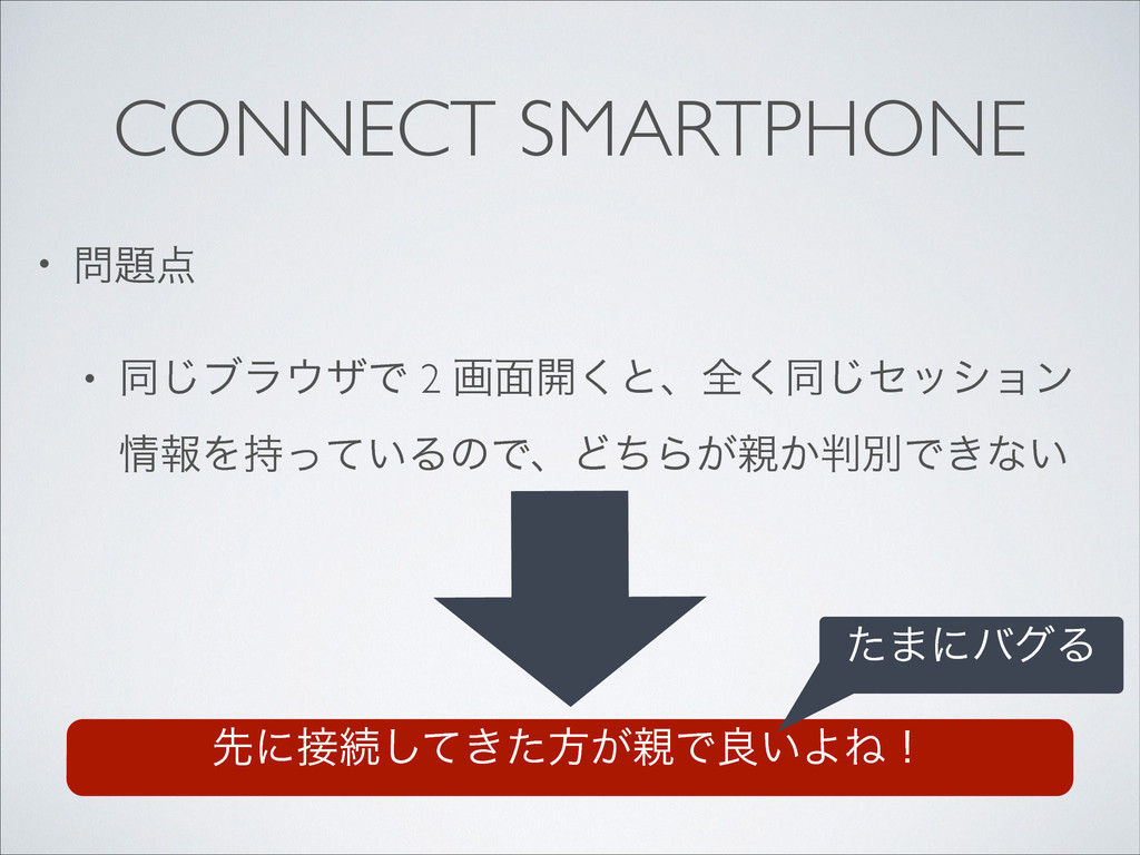 CONNECT SMARTPHONE •   • ಉ͡ϒϥβͰ 2 ը໘։͘ͱɺશ...