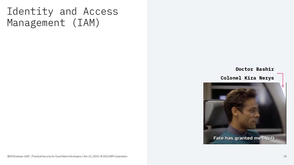 Identity and Access Management (IAM) IBM Develo...