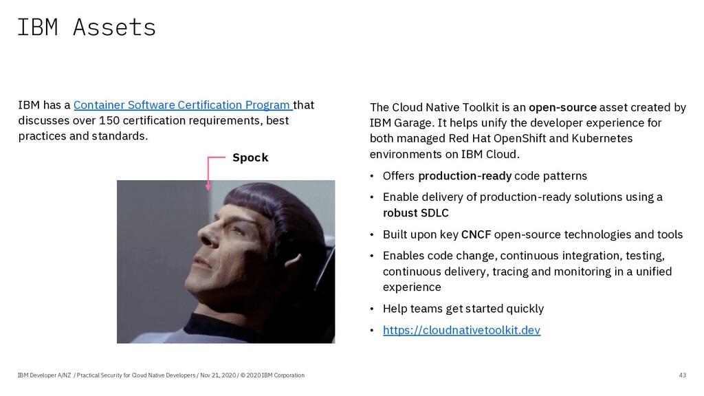 IBM Assets IBM Developer A/NZ / Practical Secur...