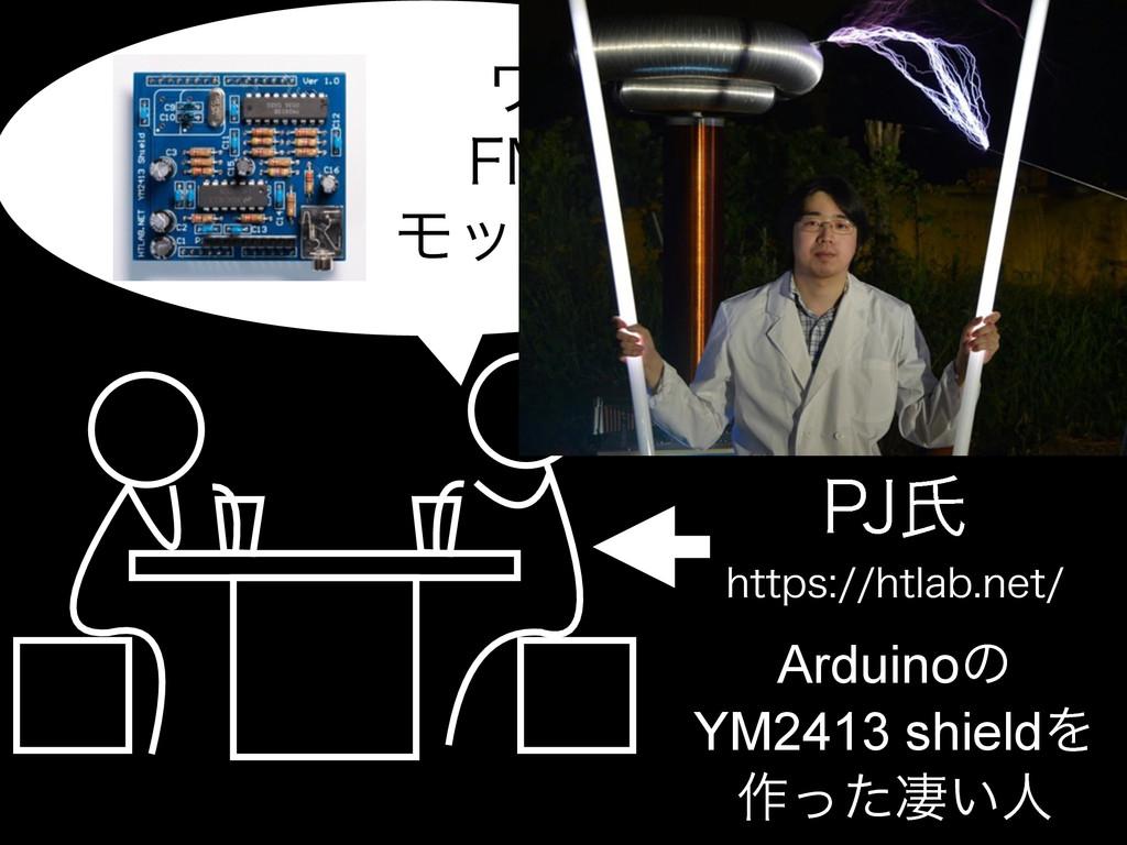 IUUQTIUMBCOFU 1+ࢯ Arduinoͷ YM2413 shieldΛ...