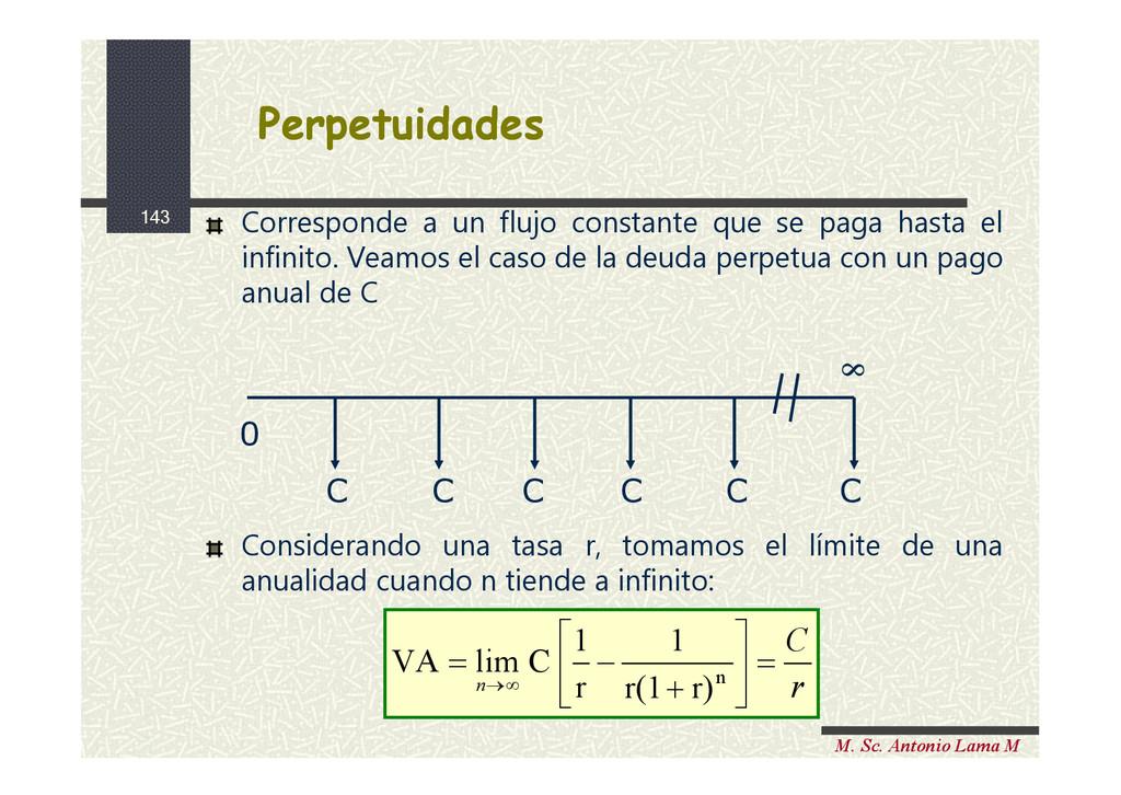 143 M. Sc. Antonio Lama M Perpetuidades Perpetu...