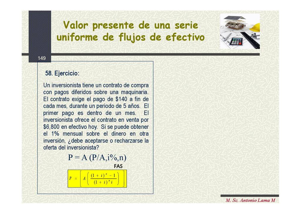 149 M. Sc. Antonio Lama M Un inversionista tien...
