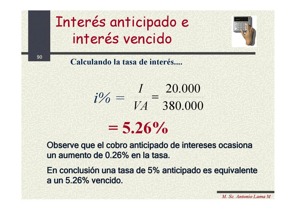 90 M. Sc. Antonio Lama M i% = 000 . 380 000 . 2...