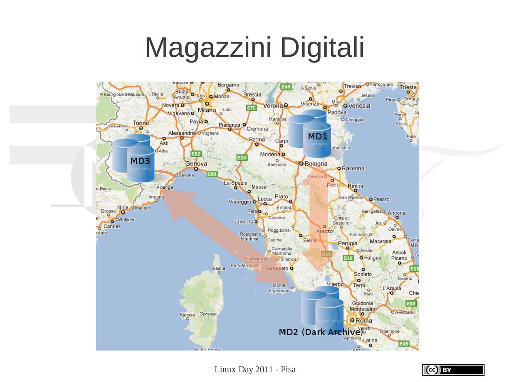 Linux Day 2011 - Pisa Magazzini Digitali