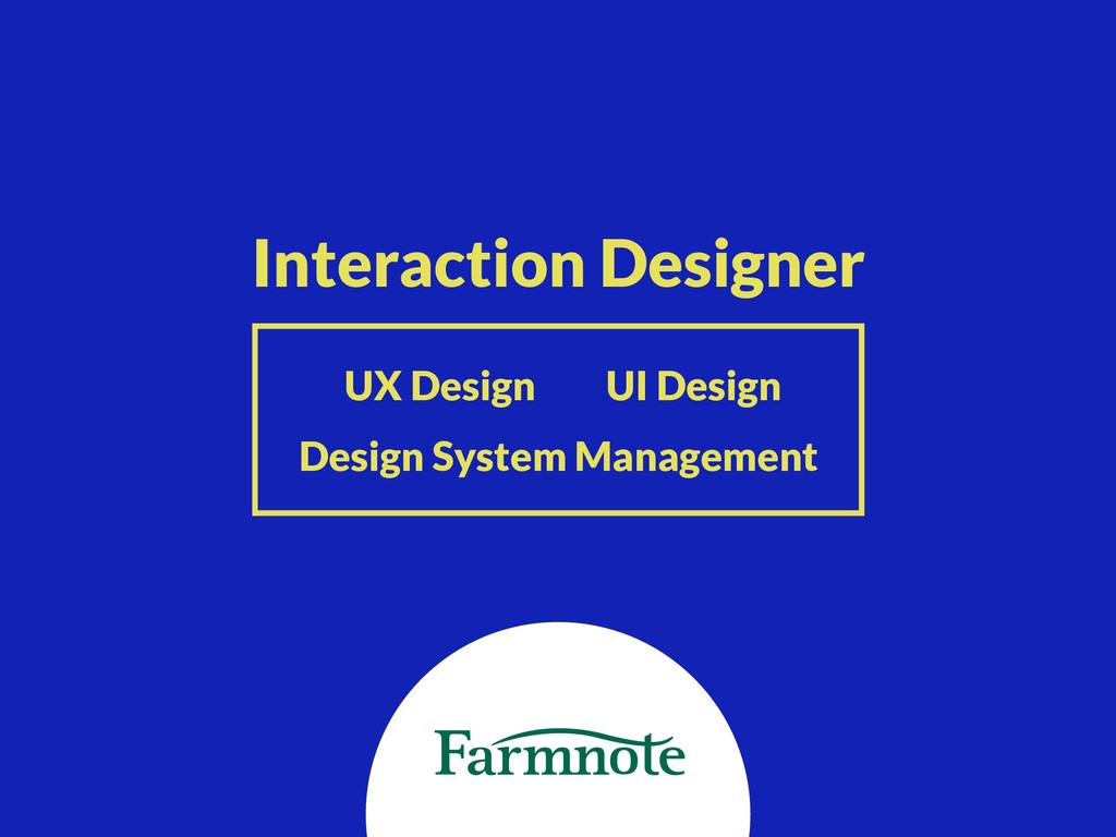 Interaction Designer UX Design UI Design Design...