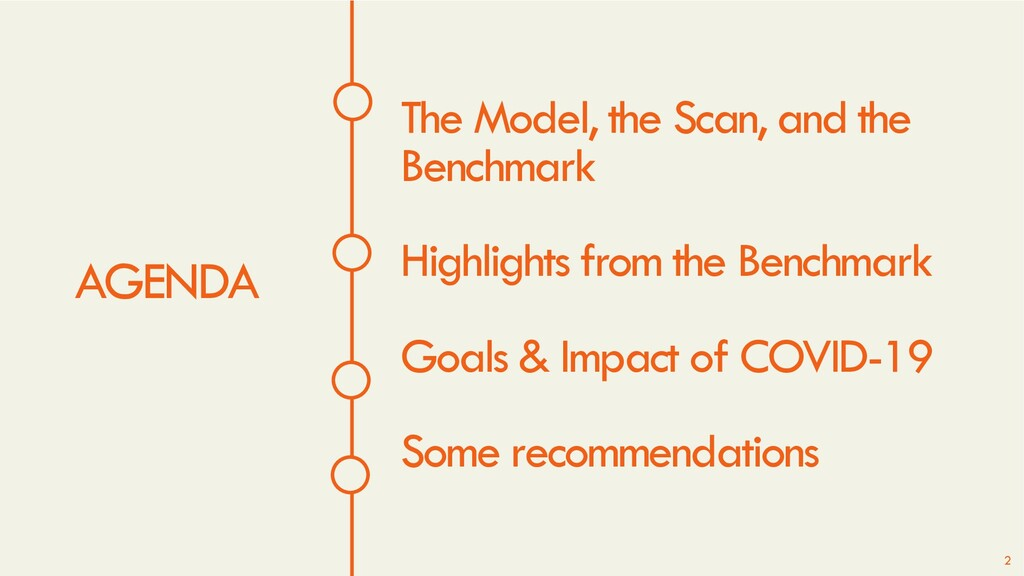 AGENDA The Model, the Scan, and the Benchmark H...