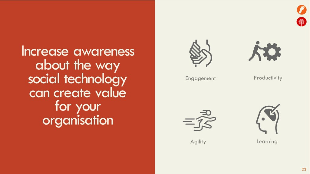 Increase awareness about the way social technol...