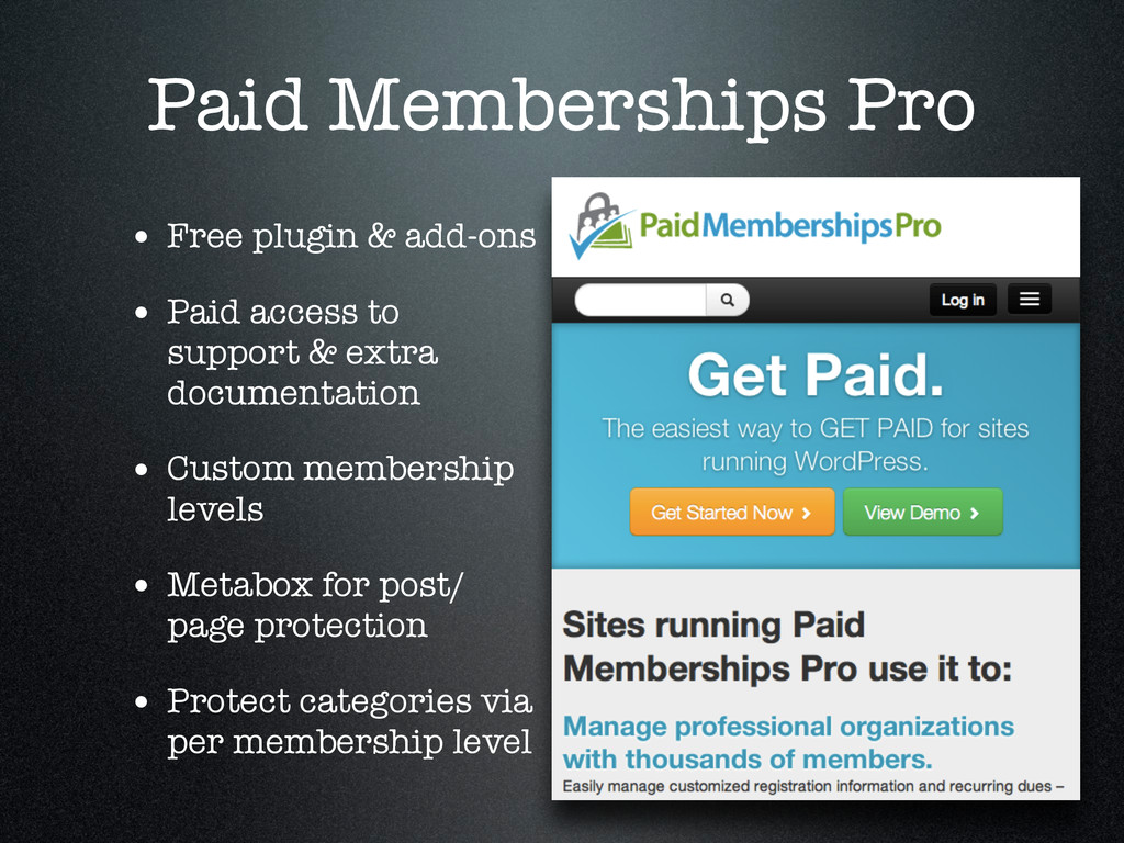 Paid Memberships Pro • Free plugin & add-ons • ...