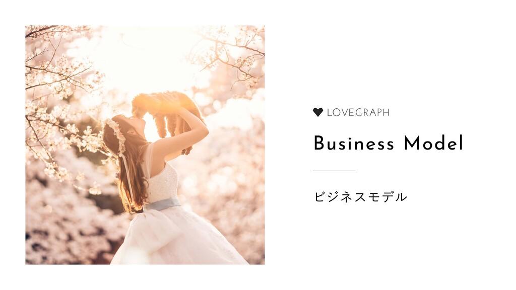 Business Model ビジネスモデル