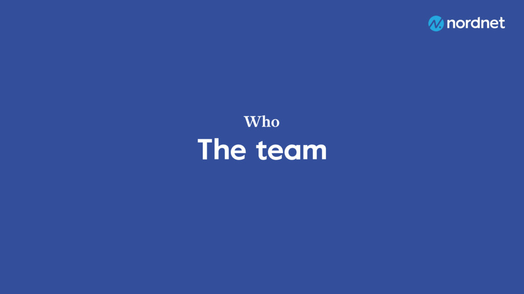 The team Who