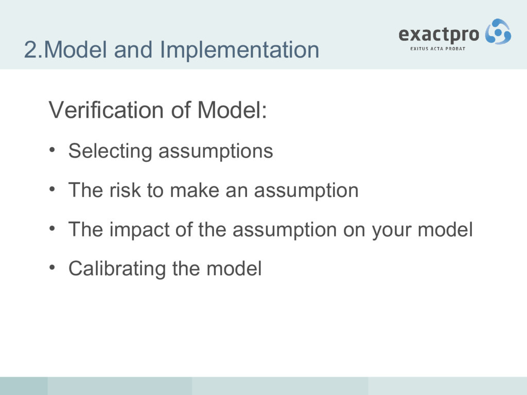 2.Model and Implementation Verification of Mode...