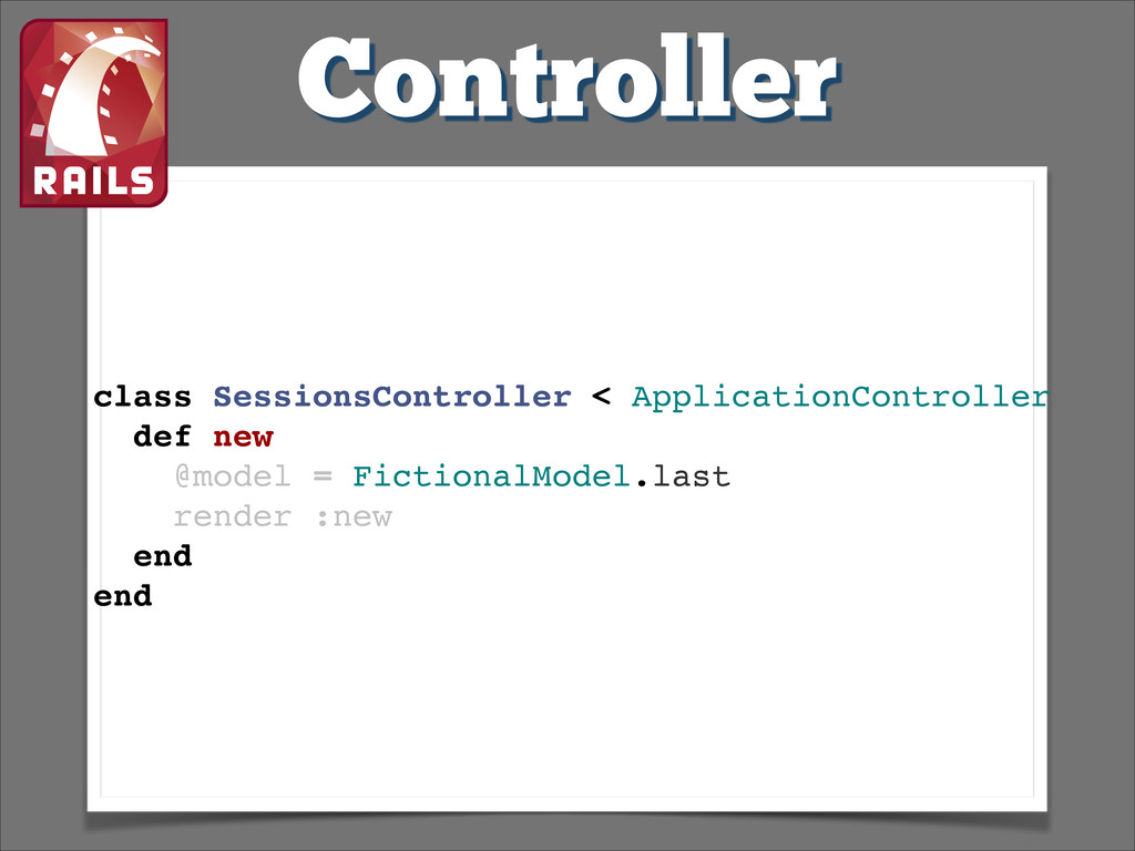 Controller class SessionsController < Applicati...