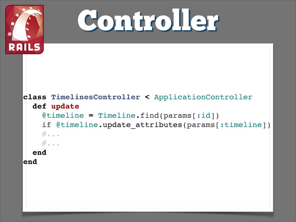 Controller class TimelinesController < Applicat...
