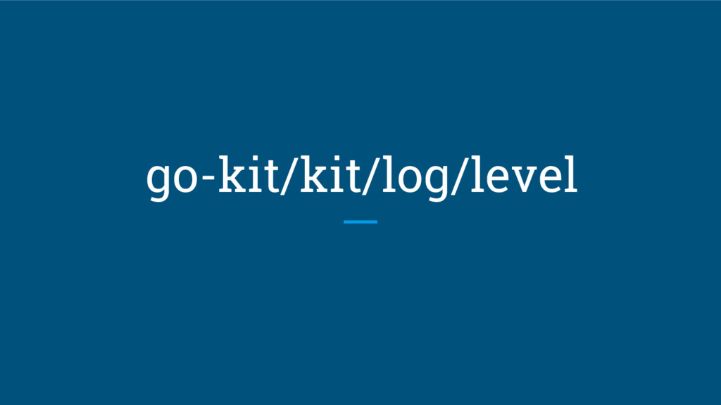 go-kit/kit/log/level