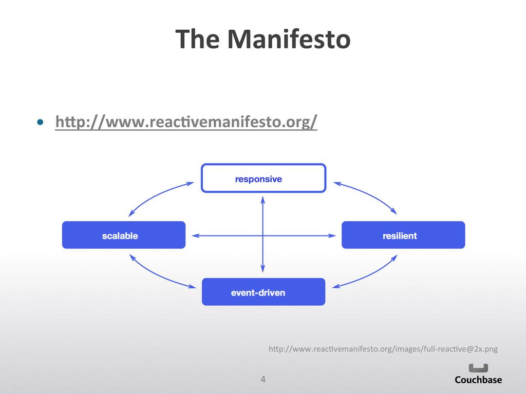 4  The Manifesto  • hGp://www.reac+ve...