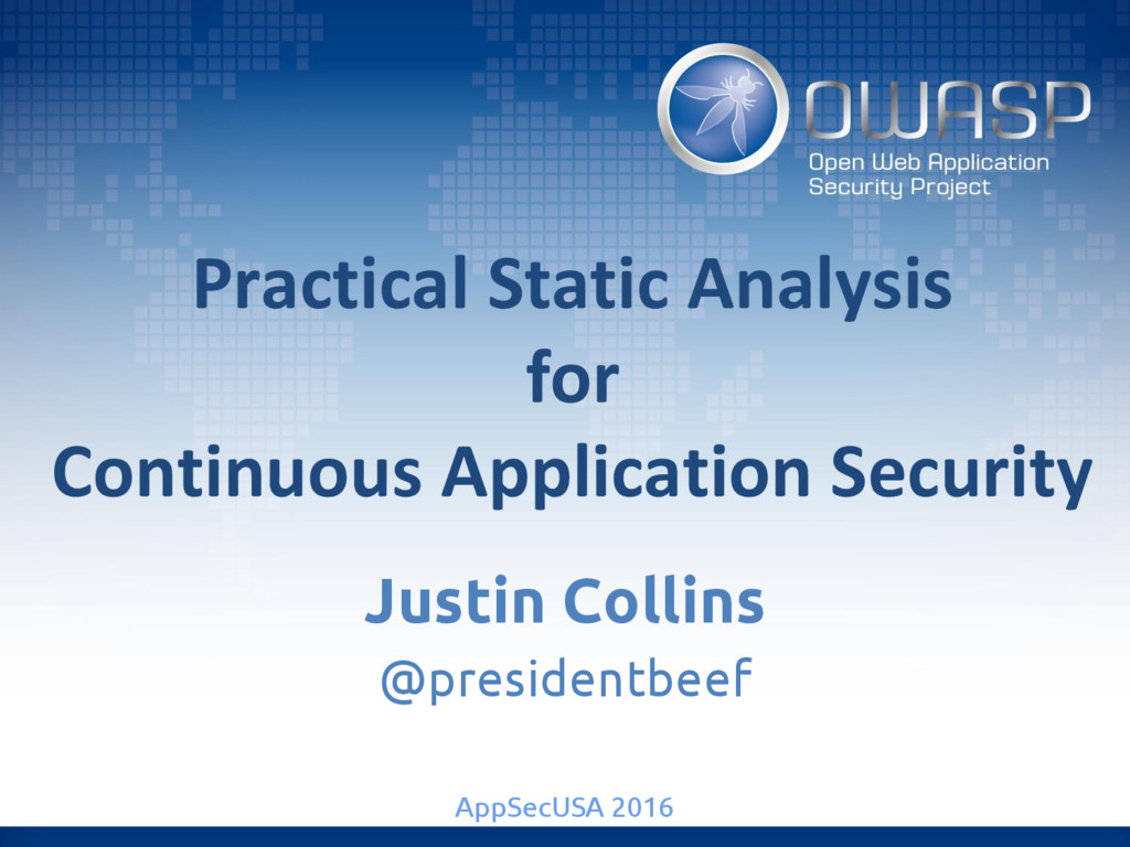 Practical Static Analysis for Continuous Applic...