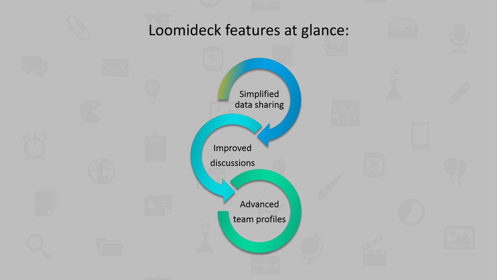 Loomideck features at glance:
