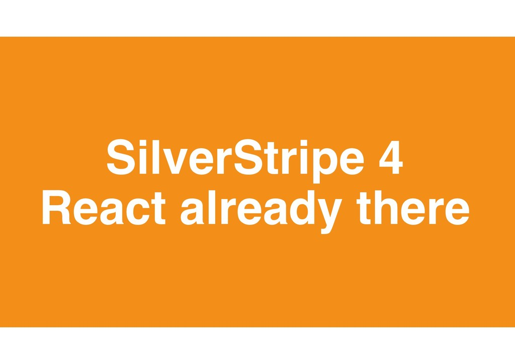 21 SilverStripe 4 