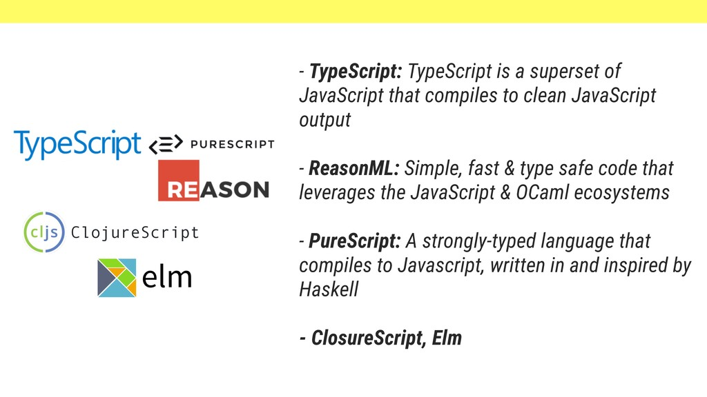 - TypeScript: TypeScript is a superset of JavaS...
