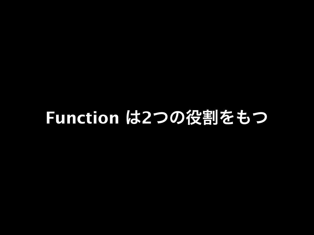 Function 2ͭͷׂΛͭ