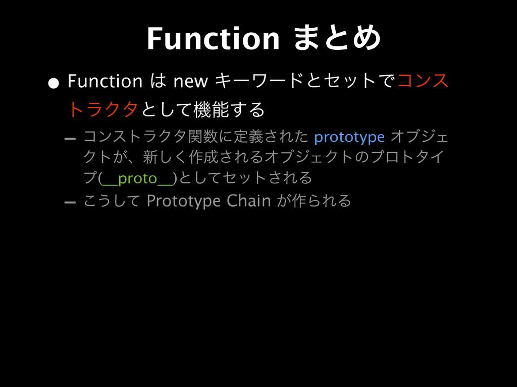 • Function  new ΩʔϫʔυͱηοτͰίϯε τϥΫλͱͯ͠ػ͢Δ - ί...