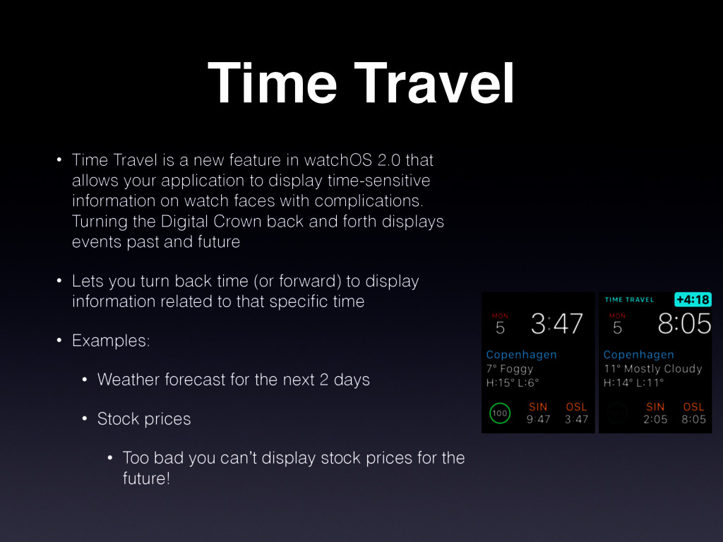 Time Travel • Time Travel is a new feature in w...