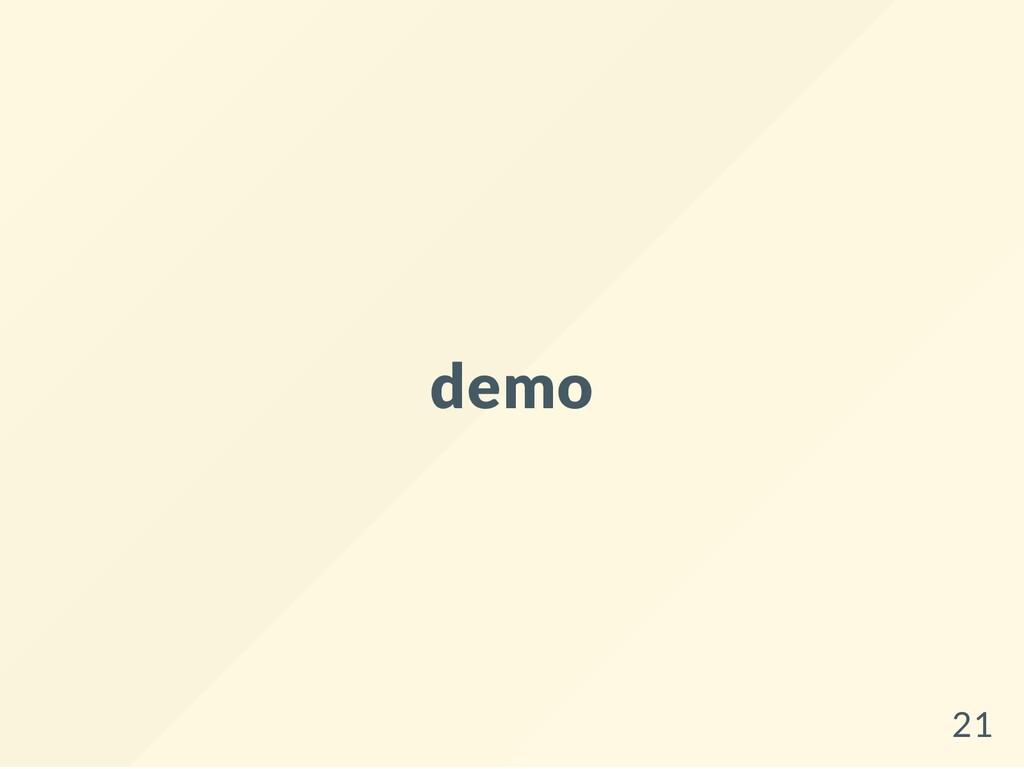 demo 21
