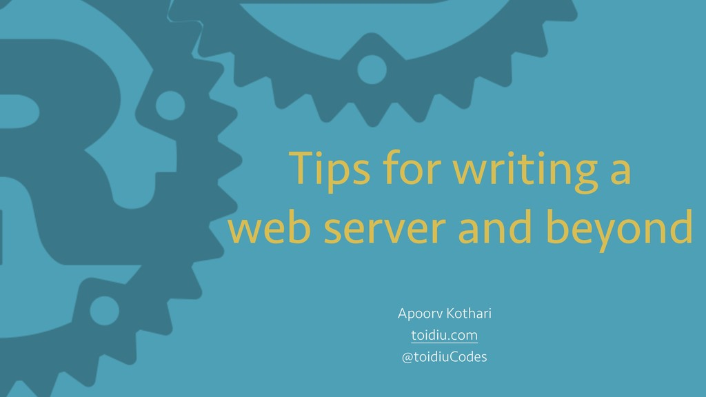 Tips for writing a