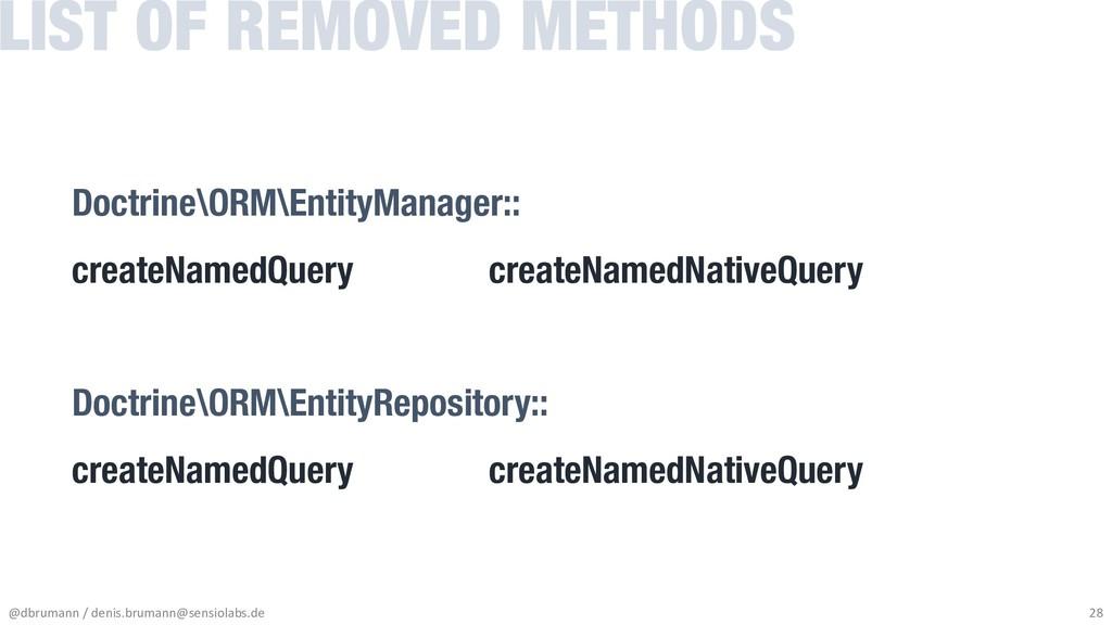Doctrine\ORM\EntityManager:: createNamedQuery c...