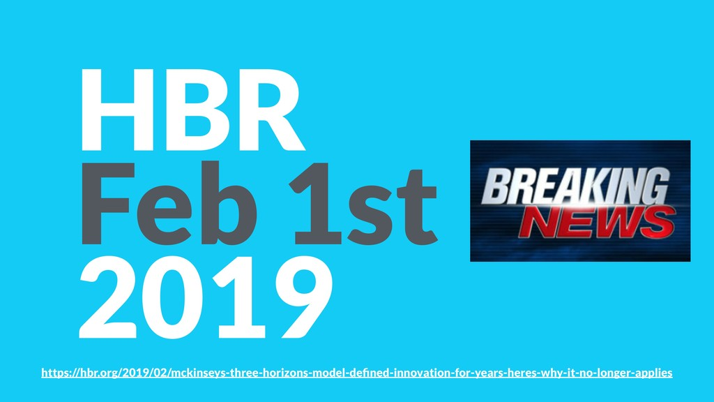 HBR Feb 1st 2019 https://hbr.org/2019/02/mckins...