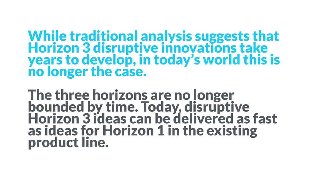 While traditional analysis suggests that Horizo...