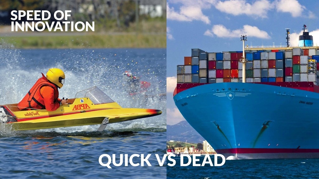 SPEED OF INNOVATION QUICK VS DEAD