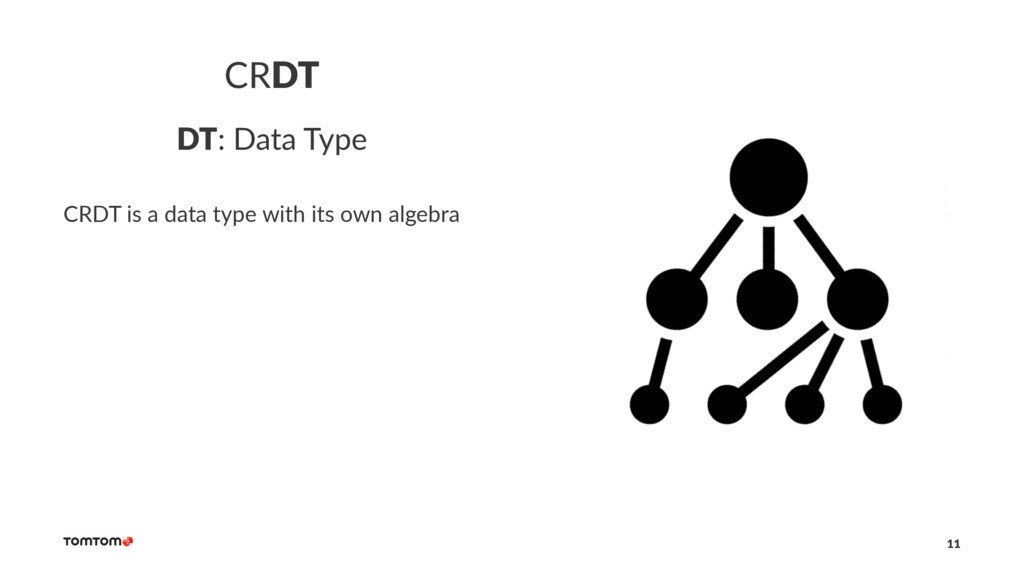 CRDT DT: Data Type CRDT is a data type with its...