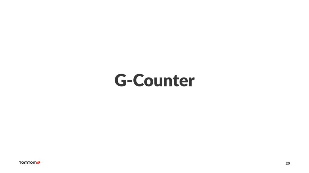 G-Counter 20