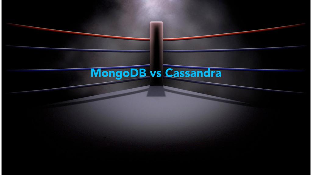 MongoDB vs Cassandra